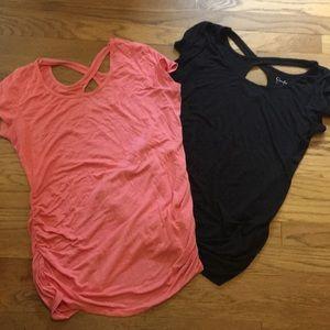 Jessica Simpson maternity shirts, sz L
